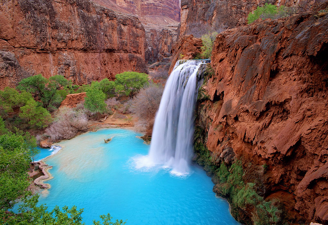 Havasu Falls In Grand Canyon Closes Due To Flooding Eventective Blog