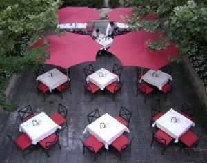 The Patio, The Chicago Firehouse Restaurant, Chicago