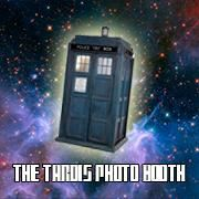 The Tardis Photo Booth, Cambridge
