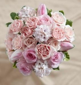 Dawn Rose Bouquet, Blossoms Florist, Mc Lean