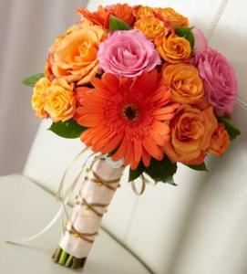 New Sunrise Bouquet, Blossoms Florist, Mc Lean