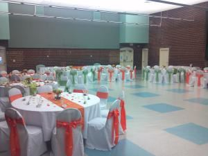 Dr. Oswald Durant Center, Alexandria — Wedding Reception