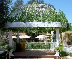 Gazebo, Whispering Oaks Terrace, Pala