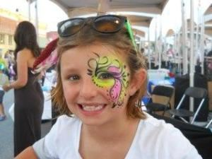 1 hour Face Painting OR Glitter Tattoos, Merry Heart Face Painting, Arlington