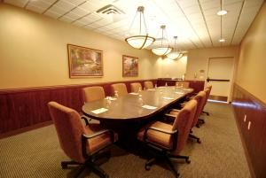 Bayba Boardroom, Holiday Inn Hotel and Convention Center - Stevens Point, Stevens Point — The Bayba Boardroom is the perfect place for small meetings, interviews, working lunches - you name it! Comfortably seats up to 10.