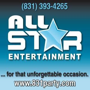 All-Star Entertainment, Monterey — Logo with links
