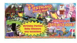 Fiestaland Party Hall El Paso Tx Party Venue