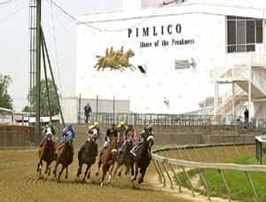 Pimlico Race Course, Baltimore — Area - 140 acres, entirely within Baltimore City limits.