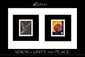 Visions by Ehsan / Vision of Unity and Peace, Laguna Niguel
