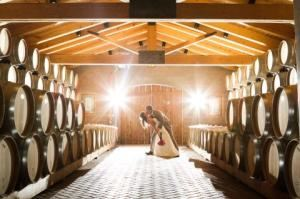 Rotunda and Barrel Room, Casa Rondena Winery, Albuquerque