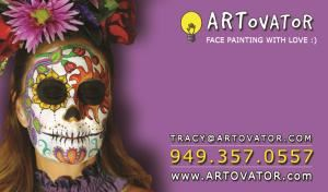 ARTovator: Face Painting & More!, Aliso Viejo