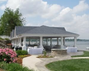 Lakefront Event Pavilion Rental starting at $500, Bay Pointe Inn, Shelbyville