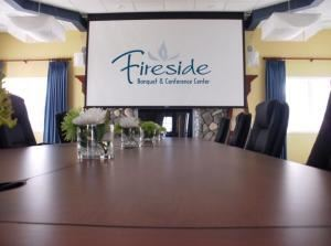 Fireside Banquet Room Rental starting at $250, Bay Pointe Inn, Shelbyville