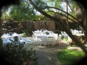 Romantic Poolside Dinner, Enchanted Manor, Valley Village