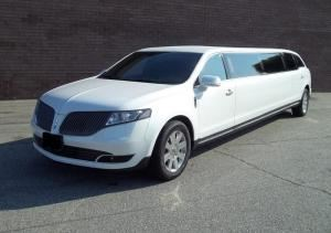 Northstar Limousine Service, Surrey — Lincoln MKT-can seat up to ten passengers.