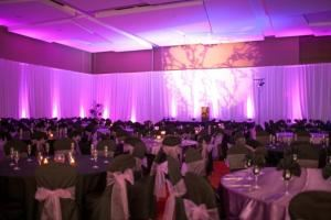 Standard UP Lighting Package (Slim PAR LED's), AST Pro Events, Lakeland