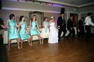 ORIGINAL MR DJ - Chicago, Chicago — Interactive with the bridal party is just one of the fun things the Original Mr DJ does.