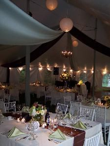 Silver Wedding Package (starting at $1750), Elegant Events | planners+design, Saugatuck — Tented Reception