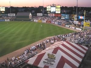 Barbecue Area, McCoy Stadium - Pawtucket Red Sox, Pawtucket