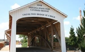 Covered Bridge, Indiana State Fairgrounds, Indianapolis