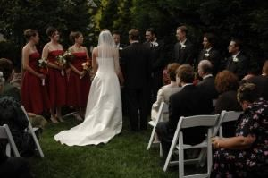 Saturday Wedding Rental, Kentlands Mansion, Gaithersburg
