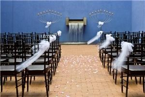 Radiant Cut Wedding Package, Fort Worth Museum of Science and History, Fort Worth — Heritage Courtyard