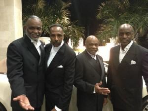 Linwood Peel's Stars from The Drifters, Mark Sonder Productions, Washington