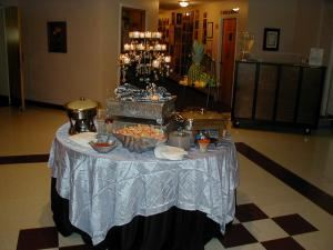 The Silver Plan Starting At $995.00, Father Val Hall, Powhatan — Mini Hors de Oeuvres table in Commons