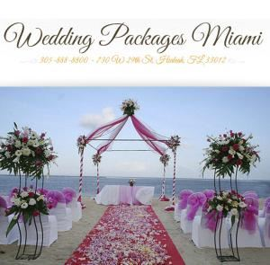 Wedding Packages Miami, Hialeah