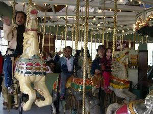 Carousel, Prospect Park, Brooklyn — Prospect Park Carousel - fun for all ages!