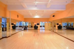 Latin Ballroom Rental, The Ball NY Dance Studios, New York — LAtin Ballroom 1300 sq feet
