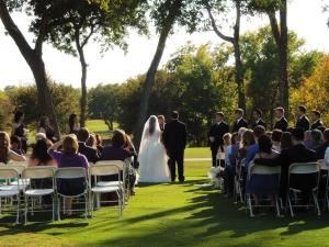 Ceremony Site, Iron Horse Golf Course & Catering, North Richland Hills