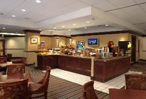 Walnut Room, Holiday Inn Express Midtown, Philadelphia — Available for use as meeting/ function space after breakfast hours (6:30am-10:30am).