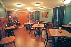 Facility Rental ($5 per person plus food and beverage), The Wooster Inn, Wooster — The Library