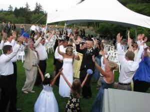 Basic 5-Hour Package, Moki Music, Kent — Outdoor weddings are fun! No special equipment charges.