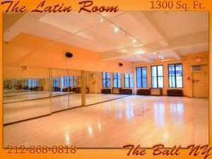Latin Ballroom, The Ball NY Dance Studios, New York