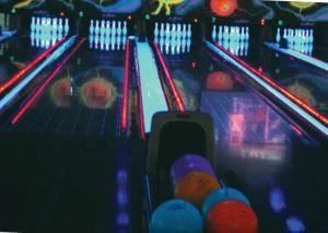 ENJOY A FUN DAY OF GLOW BOWLING!, Funfuzion At New Roc City, New Rochelle