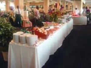 Jockey Deli Buffet, Pimlico Race Course, Baltimore — Triple Crown Room