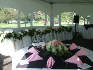 Wedding in a Tent, Catering Unlimited, Halifax
