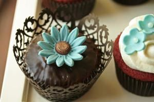 Market 71, Charleston — Decorative Gourmet Cupcakes - many designs / flavors available
