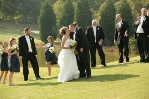 Outdoor Ceremony, Holly Tree Country Club, Simpsonville