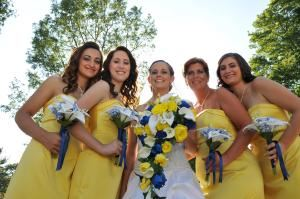 Berry's Wedding Photography, Tallahassee — Bride, Matron, Bridesmaids in North GA Mountains (DAHLONEGA)