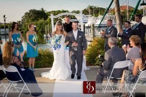 Waterfront Ceremony Location, Out of the Blue Waterfront Weddings & Events, Jupiter