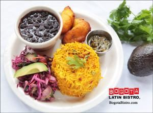 Bogota Latin Bistro, Bogota Latin Bistro, Brooklyn — One of our signature dishes: the every popular arroz con pollo