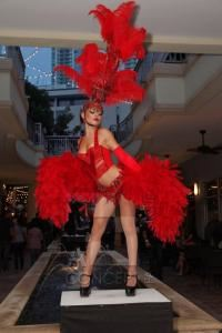 Vegas Showgirls! , A Concept Fashion Group, Hialeah — Casino Night Vegas Show Girls
