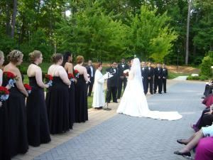 Ceremonies Ranging From $350-$500, Carolina Wedding Officiant, Garner — Beautiful formal outside wedding.