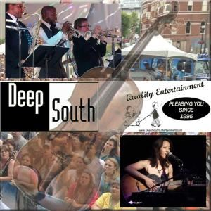 Deep South Agency - Fayetteville, Fayetteville — weddings. parties. live music. DJs. corporate engagements. birthdays. celebrations. events. major label artists. local talent.  background music. ceremony music. dance music. guitars. string quartets. jazz combos. country. acoustic. horns. since 1995. call 919.844.1515