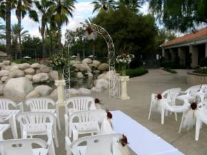 Courtyard, The Ballroom at Temeku Hills, Temecula