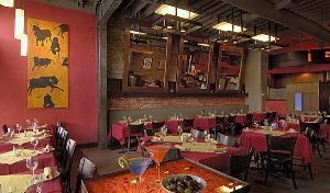 Flamenco Room & Garden Patio (Combined), Bar Celona, Pasadena