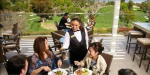 Outdoor Terrace, Braemar Country Club, Tarzana